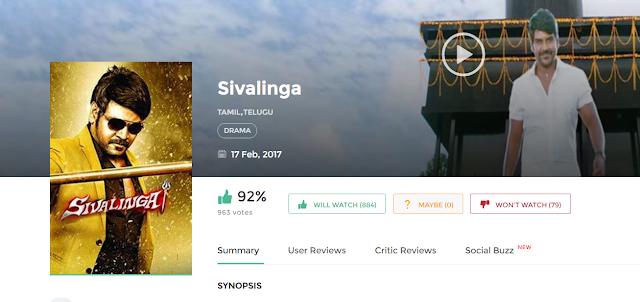 Sivalinga 2017 Download Tamil Full Movie Free