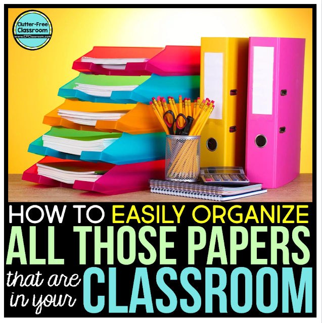 SO. MANY. PAPERS. Read to learn about free classroom organization strategies, storage solutions, hacks for managing assignments, projects, homework, worksheets and more. These simple tips and ideas organize both you AND your students!