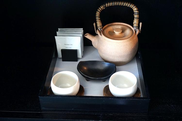 Park Hyatt Tokyo suite, tea set, Euriental