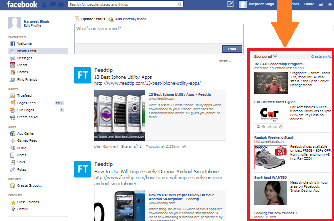 Tricks To Remove Facebook Advertisements