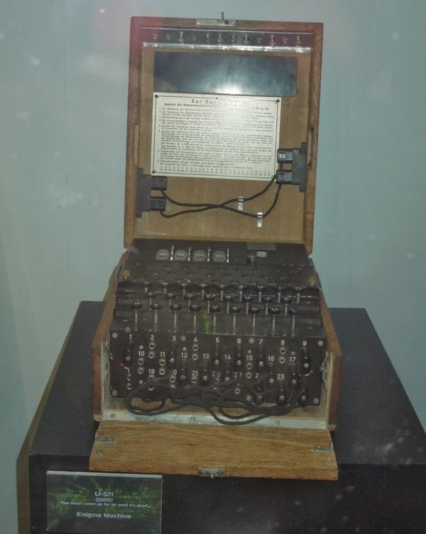 U-571 Enigma Machine movie prop