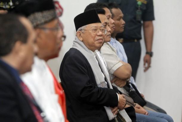 Pelecehan terhadap KH Ma'ruf Amin KETUM MUI dan rois aam PBNU