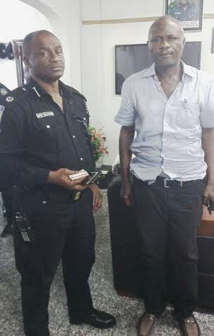 LEKAN SHONDE WITH THE POLICE FOR ALLEGED MURDER OF HIS WIFE rONKE