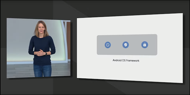 Android Q في Google I / O