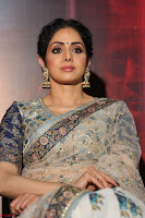 Sri Devi in designer saree stunning beauty at the launch of MOM movie Trailer~  Exclusive 041.JPG