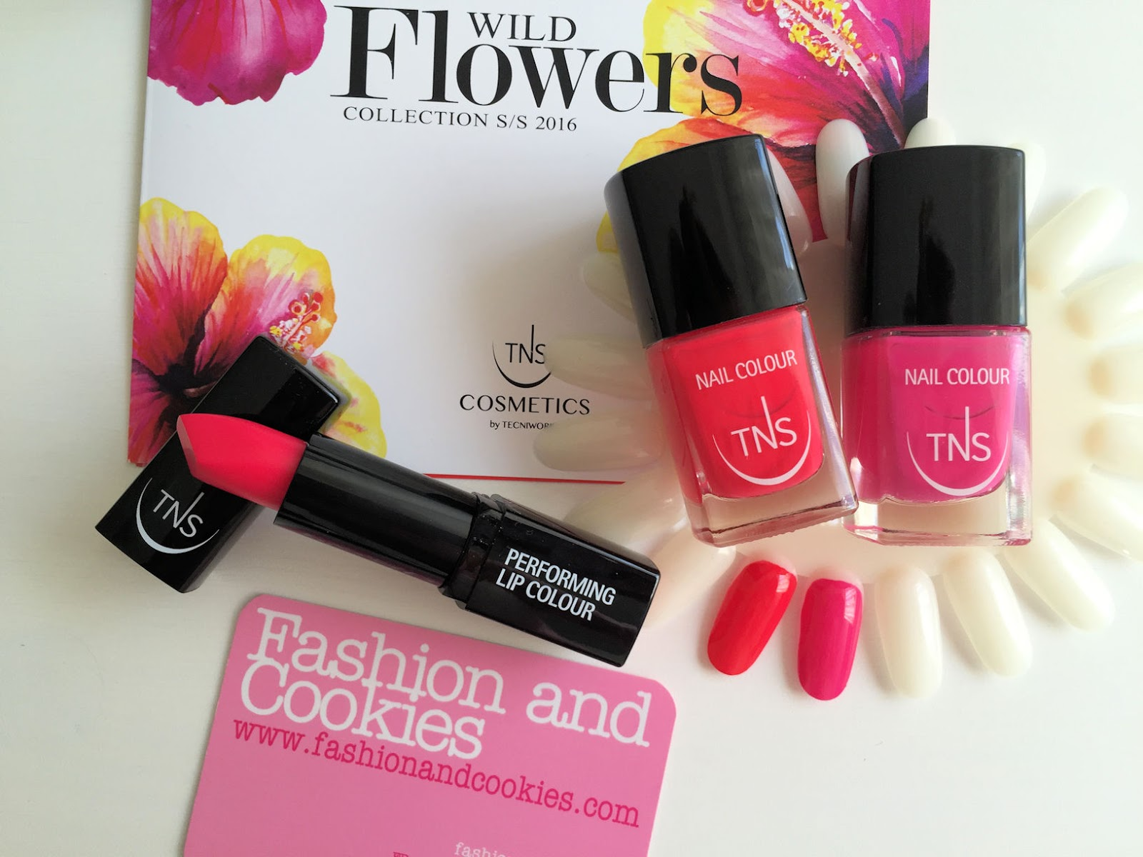 TNS Cosmetics Wild Flowers collection on Fashion and Cookies beauty blog, beauty blogger