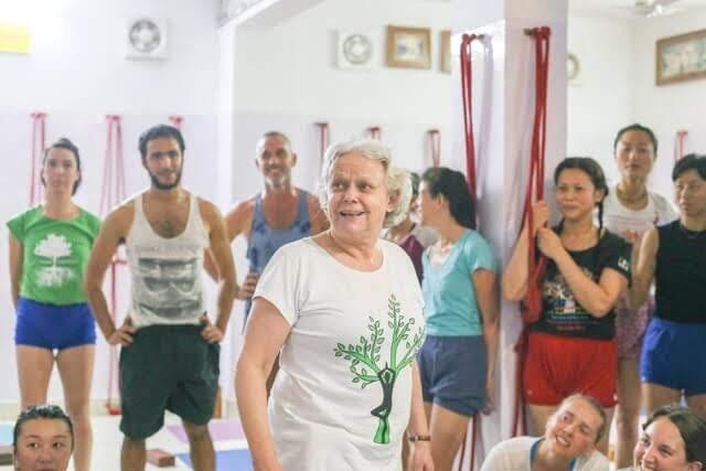 Usha Devi Iyengar Yoga Rishikesh