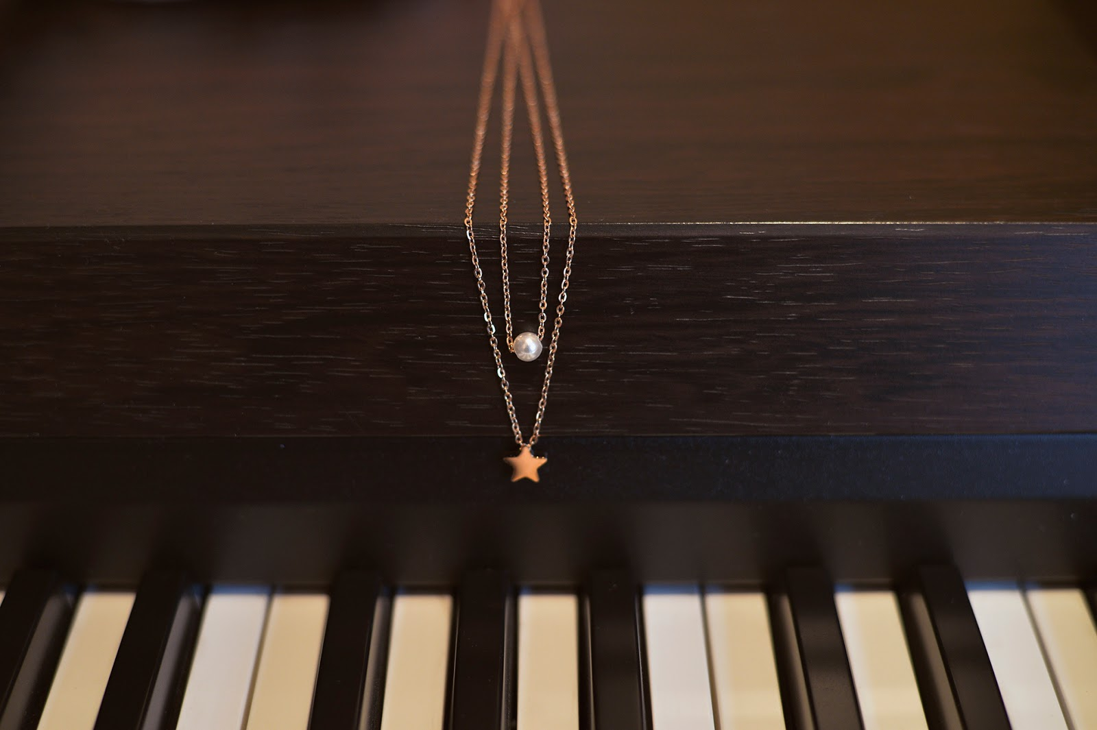 happiness boutique piano dainty jewelry fashion editorial blogger