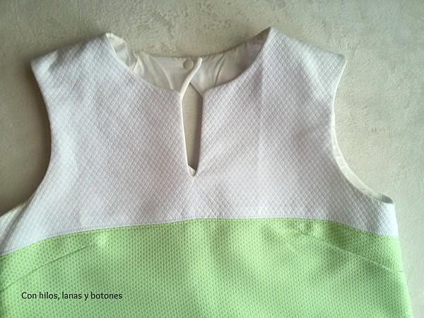 Con hilos, lanas y botones: Color Block African Print Dress