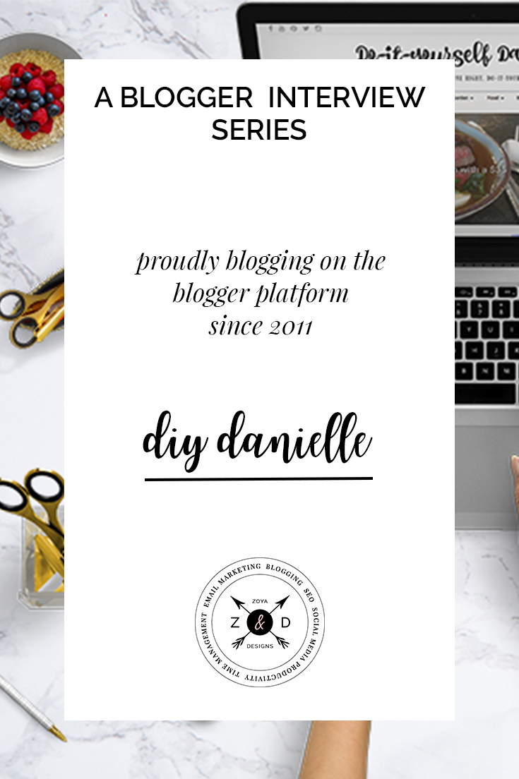 blogger interview danielle from diy danielle