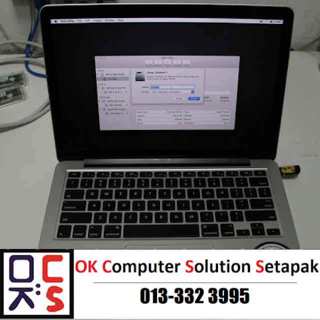 [SOLVED] FORMAT MACBOOK | REPAIR MACBOOK GOMBAK