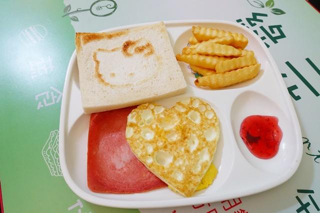 綠元素蔬食早午餐兒童餐