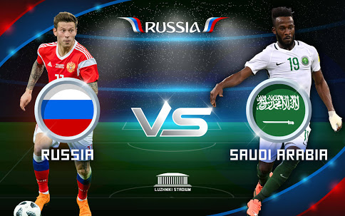[VIDEO] : Russia VS Saudi Arabia 5 - 0 Full Highlights