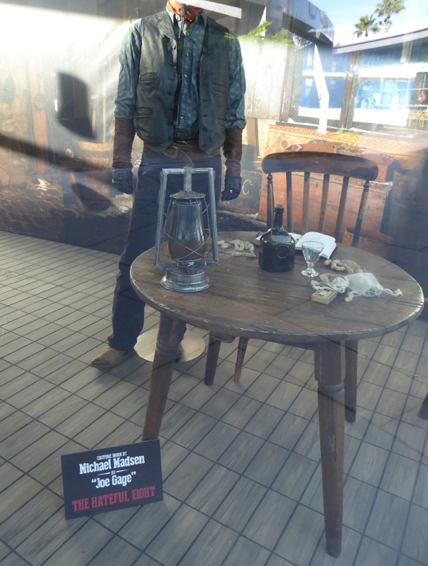 Hateful Eight Joe Gage costume props