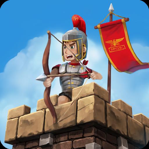 لعبة Grow Empire Rome 1.3.27 مهكرة للاندرويد نقود لا نهاية