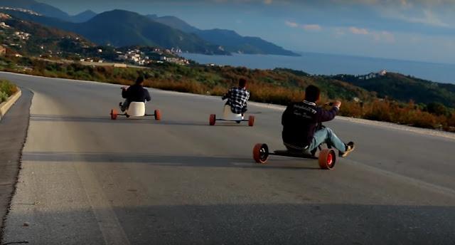 Bike drift στην Θεσπρωτία (+ΒΙΝΤΕΟ)