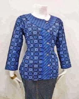 Model Baju Dan Rok Batik Untuk Guru