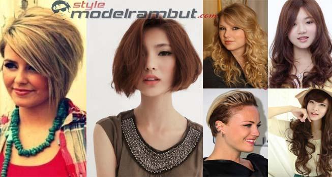 Model Rambut Untuk Orang Gemuk Agar Telihat Kurus