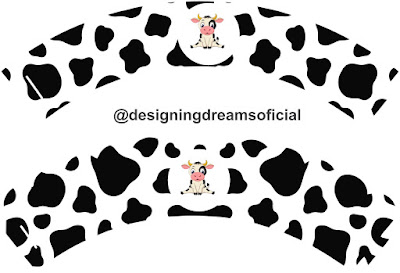 Crazy Cow Free Printable Party Kit.