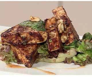 How to make tofu salad step by step