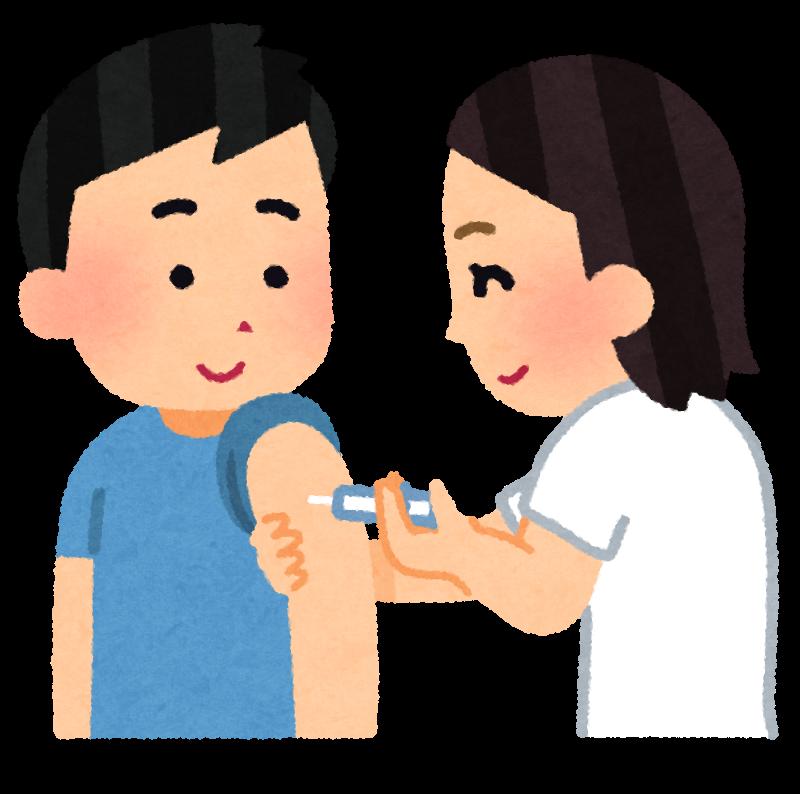 図:ワクチン接種