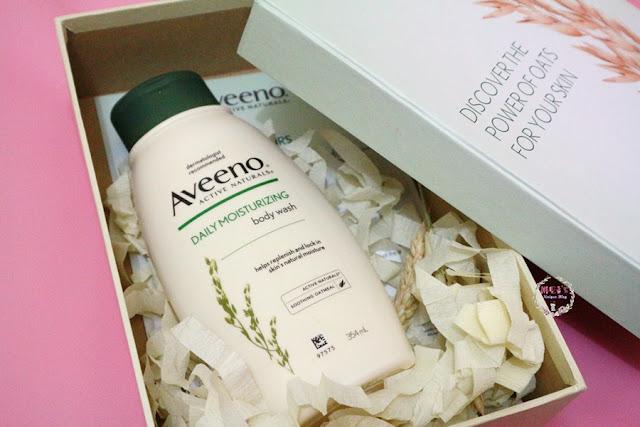 Unboxing Beautynesia: Aveeno Daily Moisturizing Body Wash