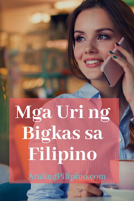 Mga Uri ng Bigkas sa Filipino