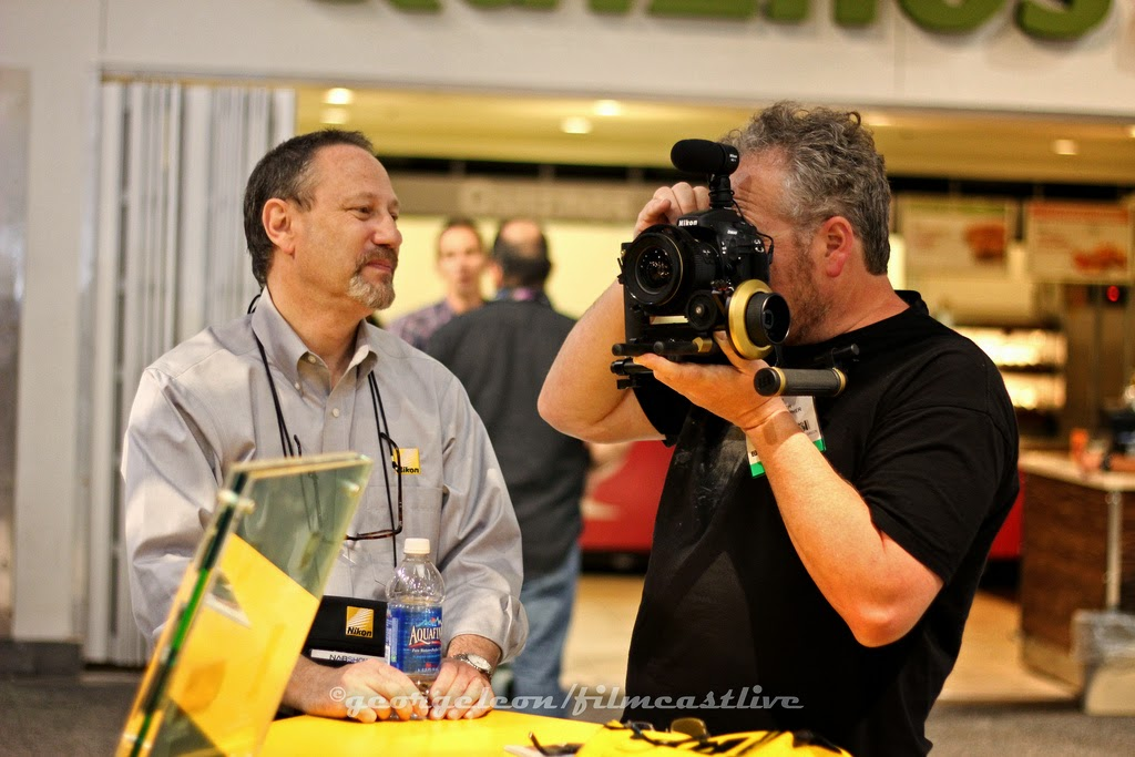 Nikon Booth NAB Show    ©george leon still & motion
