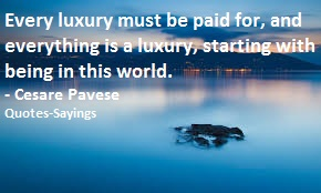 quotes on luxury