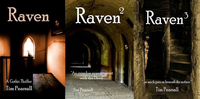 The Raven series by Tim Pearsall on Amazon