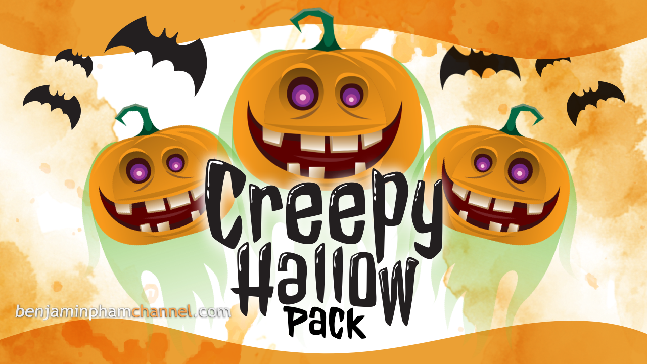 Filmora Creepy Hallow Pack