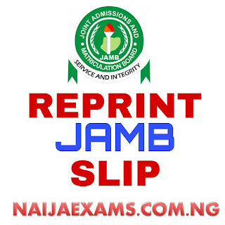 Notice To Jamb Candidates On Reprinting Of Form 2018