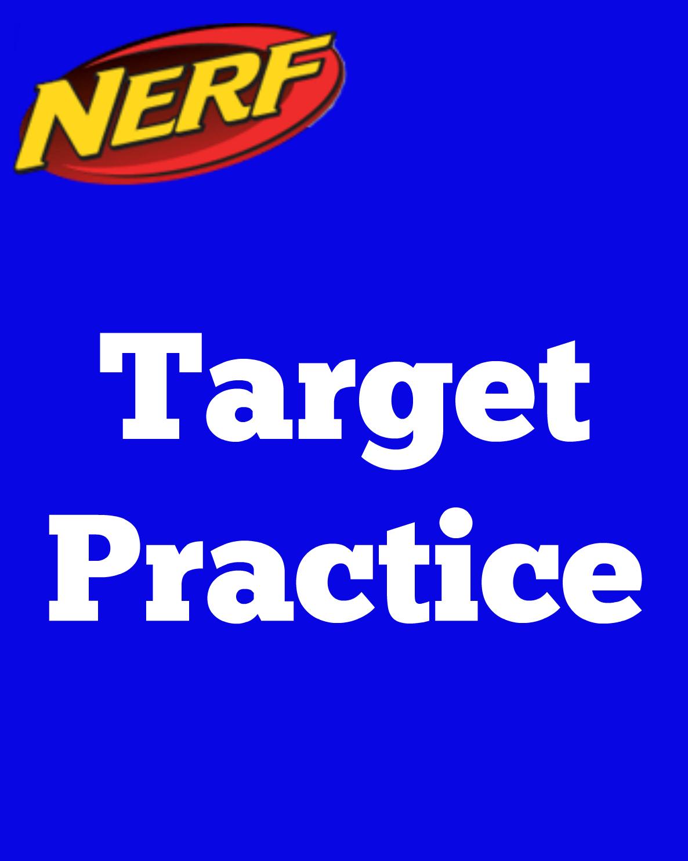 image relating to Nerf Target Printable named East Coastline Mommy: NERF Social gathering Symptoms