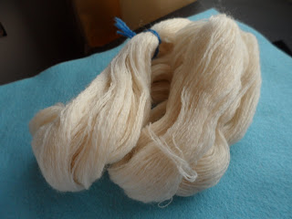 Russian spindle handspun support spinning super fine orenburg lace yarn 2-ply