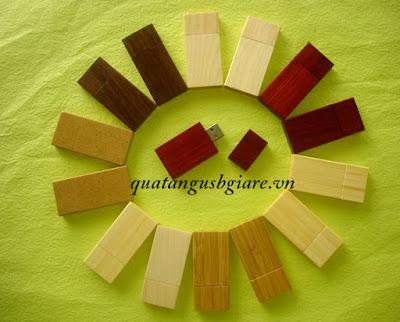 hình ảnh usb gỗ