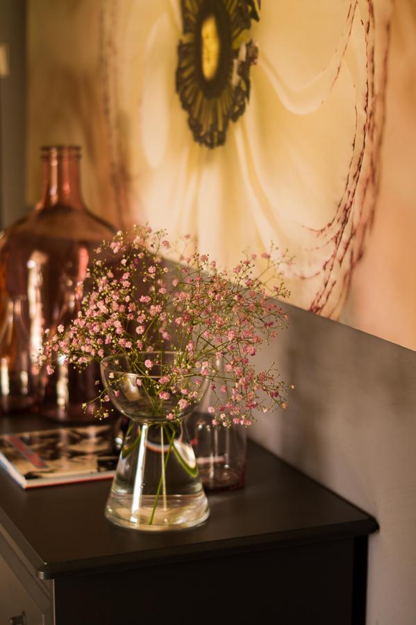 Blog + Fotografie by it's me   fim.works   Flower Friday   Rosa Schleierkraut   Vasen und Gläser in Rosa