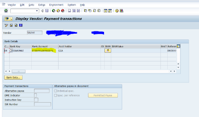 SAP FICO DMEE Configuration
