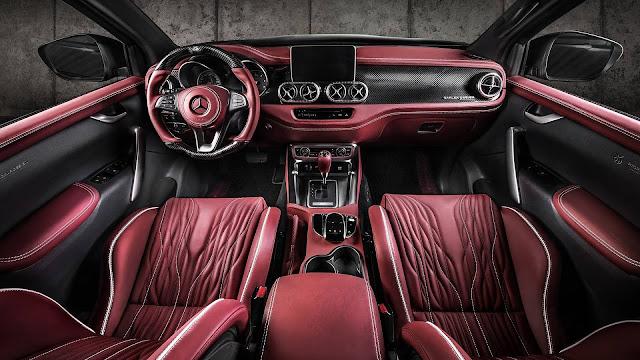 Mercedes X-Class dah mewah dimewahkan lagi oleh Carlex Design