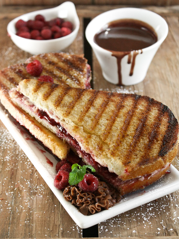 Raspberry Cream Cheese Paninis With Panera Bread