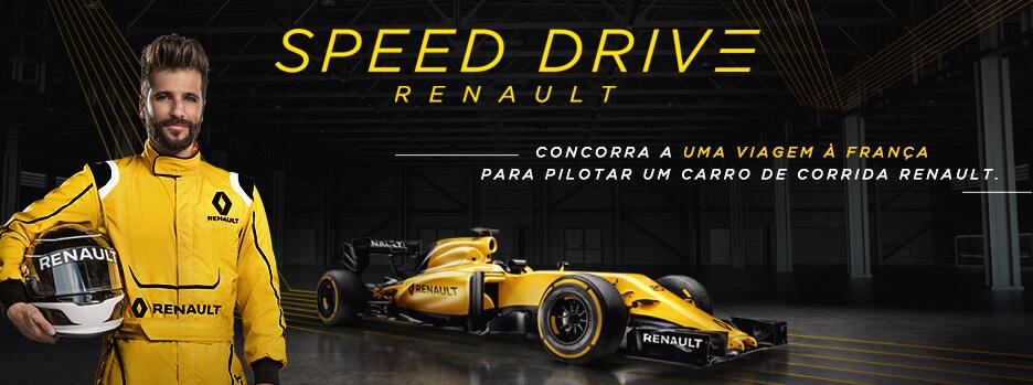 Últimos dias: faça um test-drive na Renault e concorra a viagem para pilotar na França