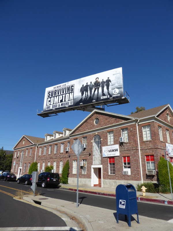 Surviving Compton billboard