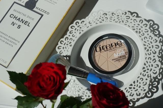 Lirene City Matt mineralny puder matujący - idealne wykończenie makijażu