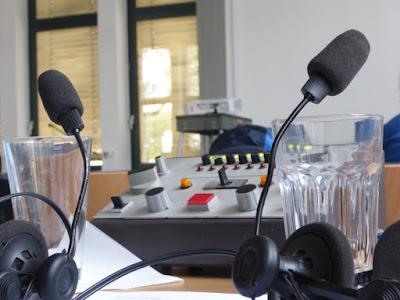 Mikrophone, Dolmetschpult