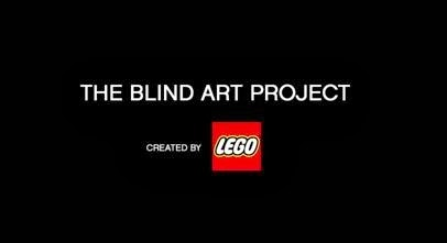 The Blind Art Project, Created by LEGO