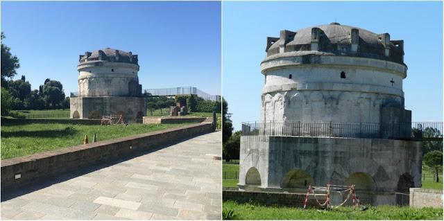 O que ver em Ravenna (Itália) além dos mosaicos? Mausoléu de Teodorico