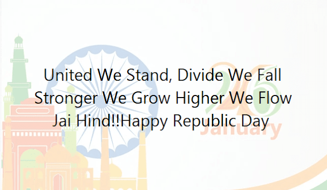 Indian Republic Day Status Wishes