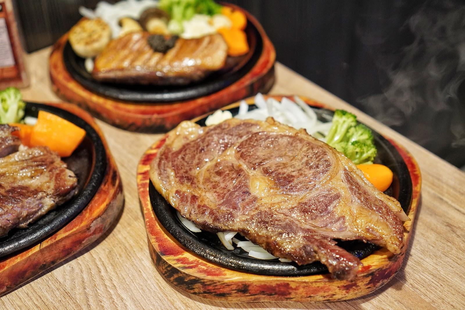 台南中西區美食【丹妮牛排】肋眼牛排