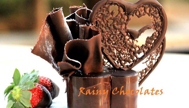 Chocolate Day Rain Whatsapp Status DP
