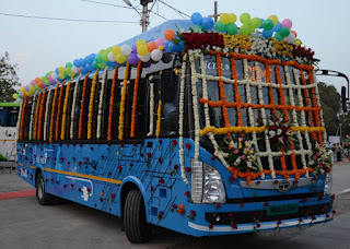 Tata Motors deliver 40 Electric buses to Atal Indore City transport services