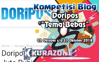 Kompetisi Blog - Doripos Berhadiah Total Uang Tunai 1 Juta Rupiah